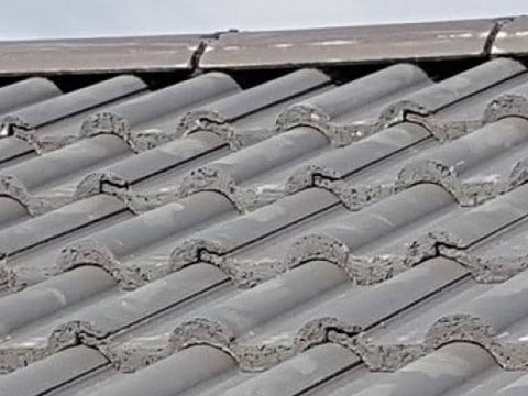 Roof Repairs Sale cement missing from ridge