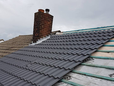full roof replacement Sale